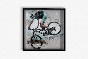 Biker Overcome Obstacles DIY Diamond Painting Kit