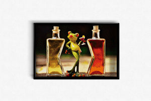 Bottle Frog DIY Diamond Painting Kit
