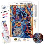 Load image into Gallery viewer, Branching Horns DIY Diamond Painting Kit