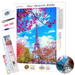 Load image into Gallery viewer, Bright Colors of the Paris Tower DIY Diamond Painting Kit