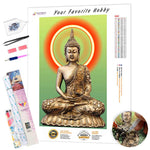 Load image into Gallery viewer, Buddha in Halo DIY Diamond Painting Kit