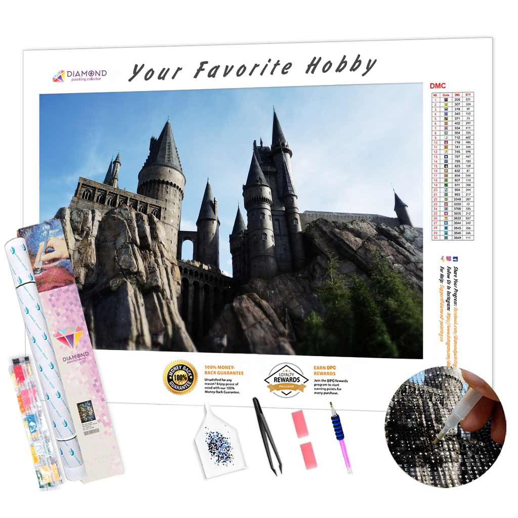 Tower Castle DIY Diamond Painting Kit