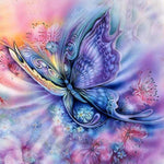 Load image into Gallery viewer, Butterfly Flutters DIY Diamond Painting Kit