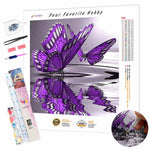 Load image into Gallery viewer, Butterfly on the Water DIY Diamond Painting Kit