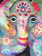 Load image into Gallery viewer, Indian Elephant artwork DIY Diamond Painting Kit