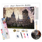 Load image into Gallery viewer, Castle Drachenburg DIY Diamond Painting Kit
