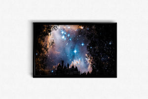 Castle on a starry night DIY Diamond Painting Kit