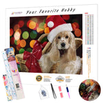 Load image into Gallery viewer, Christmas Puppy DIY Diamond Painting Kit