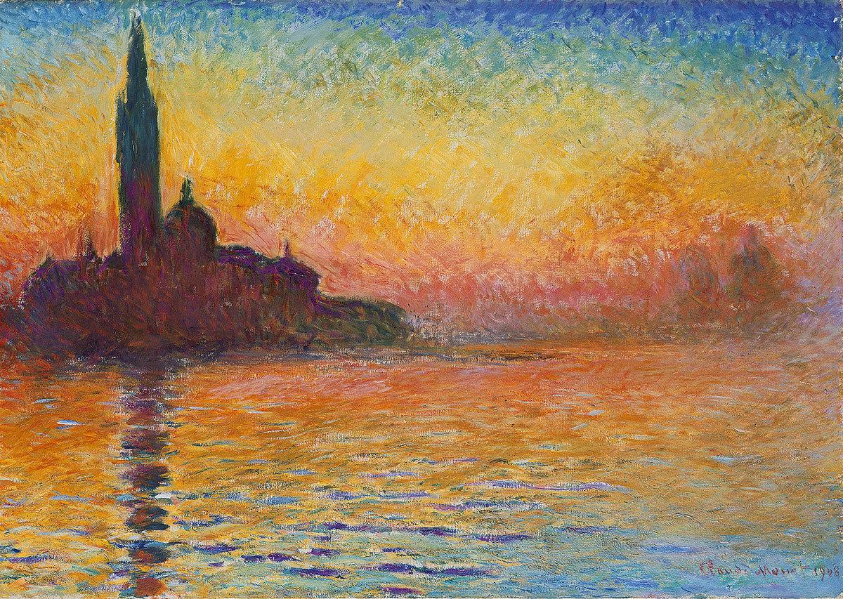 San Giorgio Maggiore at Dusk by Claude Monet DIY Diamond Painting Kit