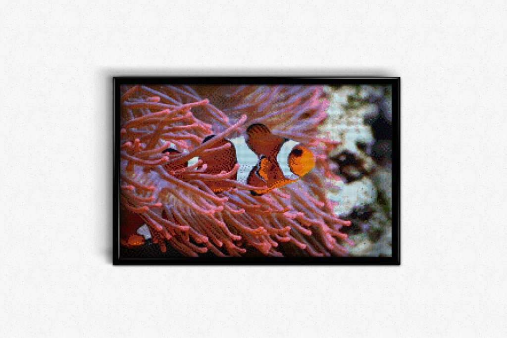 Clownfish DIY Diamond Painting Kit