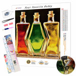 Load image into Gallery viewer, Colored Bottles DIY Diamond Painting Kit