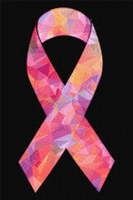 Load image into Gallery viewer, Colored Cancer Ribbon DIY Diamond Painting Kit