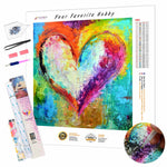 Load image into Gallery viewer, Colors of Love DIY Diamond Painting Kit