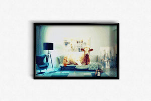 Cow in the Living Room DIY Diamond Painting Kit