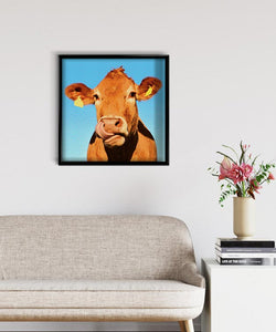 Cow with Tags DIY Diamond Painting Kit
