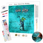 Load image into Gallery viewer, Cuba Libre Cocktail DIY Diamond Painting Kit