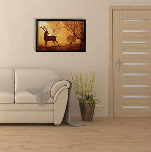 Deer in the Autumn Forest DIY Diamond Painting Kit