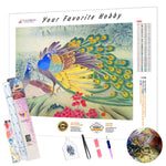 Load image into Gallery viewer, Delightful Peacocks DIY Diamond Painting Kit