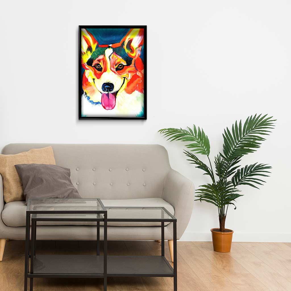 Dog Stuck out Tongue DIY Diamond Painting Kit