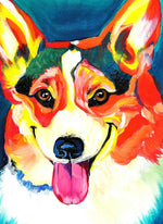 Load image into Gallery viewer, Dog Stuck out Tongue DIY Diamond Painting Kit