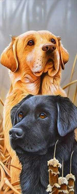 Load image into Gallery viewer, Dogs on the Hunt DIY Diamond Painting Kit