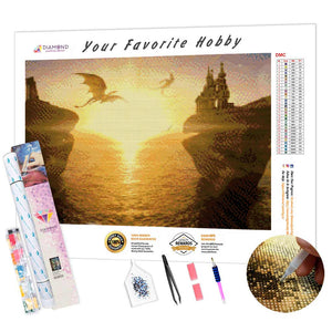 Dragon Sun DIY Diamond Painting Kit