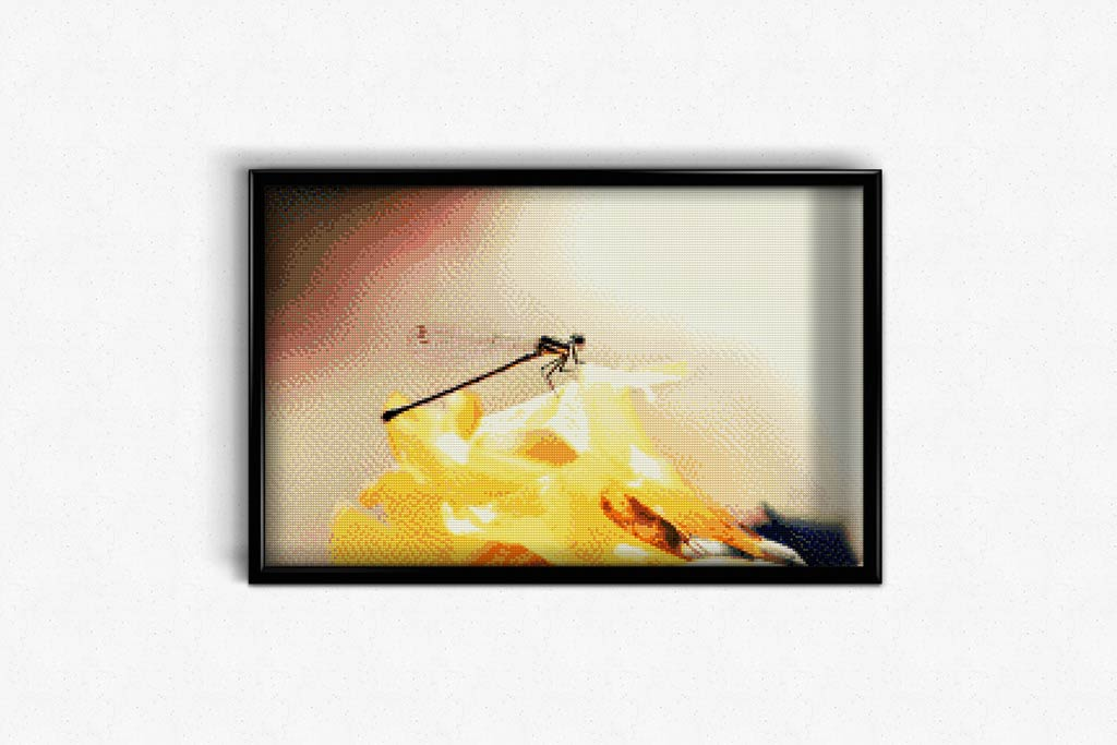 Dragonfly in Nature DIY Diamond Painting Kit