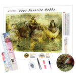 Load image into Gallery viewer, Duck Family DIY Diamond Painting Kit