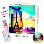 Load image into Gallery viewer, Eiffel Tower at Sunset DIY Diamond Painting Kit