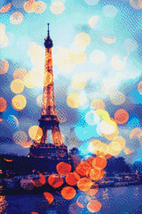 Eiffel Tower of Paris DIY Diamond Painting Kit