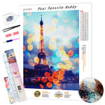 Load image into Gallery viewer, Eiffel Tower of Paris DIY Diamond Painting Kit