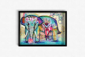 Elephant artwork DIY Diamond Painting Kit