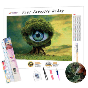 Eye Tree DIY Diamond Painting Kit