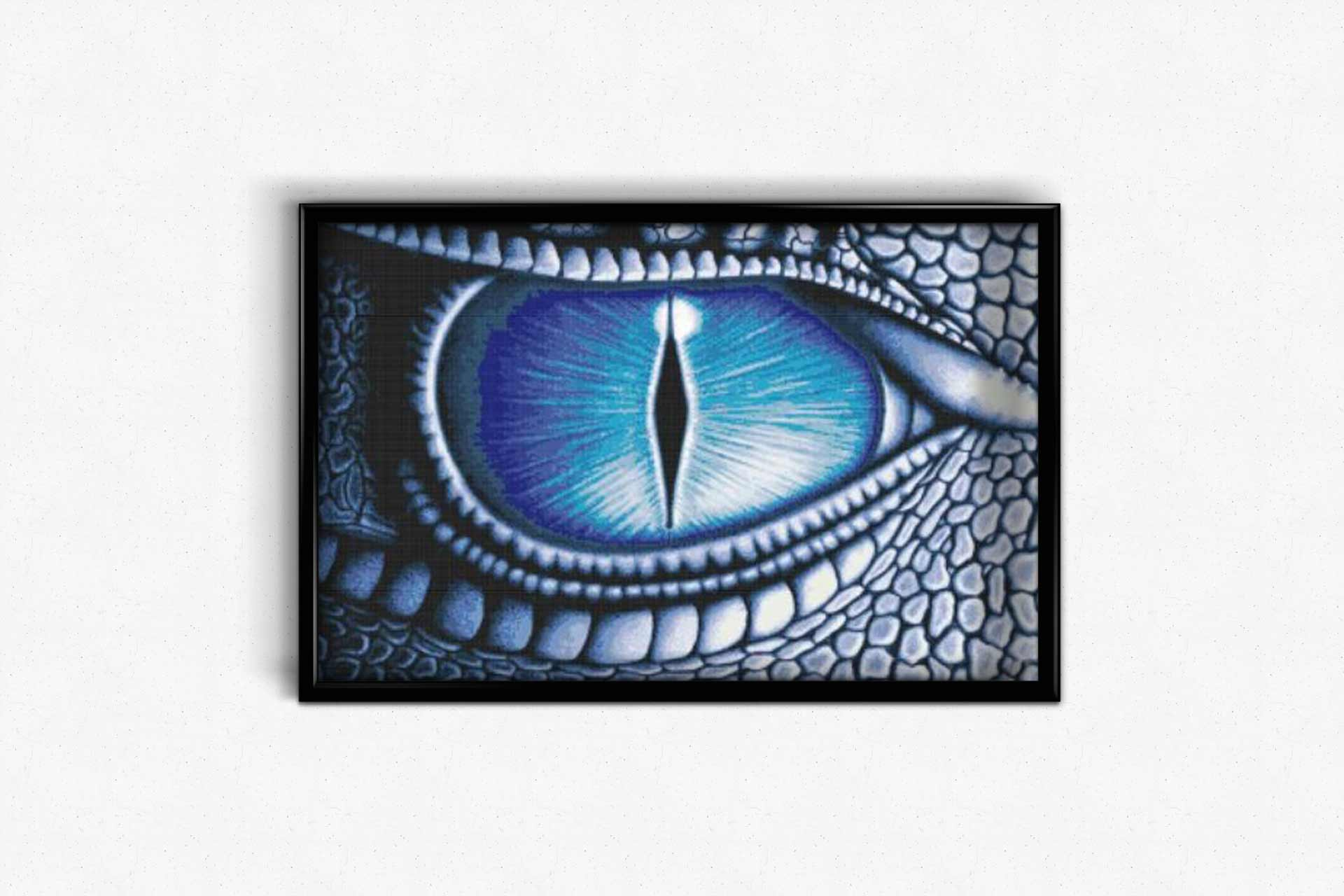 Eye of the Dragon DIY Diamond Painting Kit