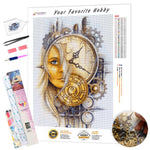 Load image into Gallery viewer, Face Watch DIY Diamond Painting Kit