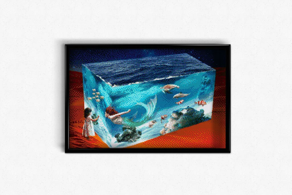 Facets of the Ocean DIY Diamond Painting Kit