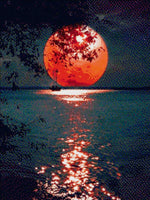 Load image into Gallery viewer, Fantastic Moon DIY Diamond Painting Kit