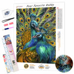Load image into Gallery viewer, Fantastic Peacocks DIY Diamond Painting Kit
