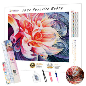 Fantastic Flower DIY Diamond Painting Kit
