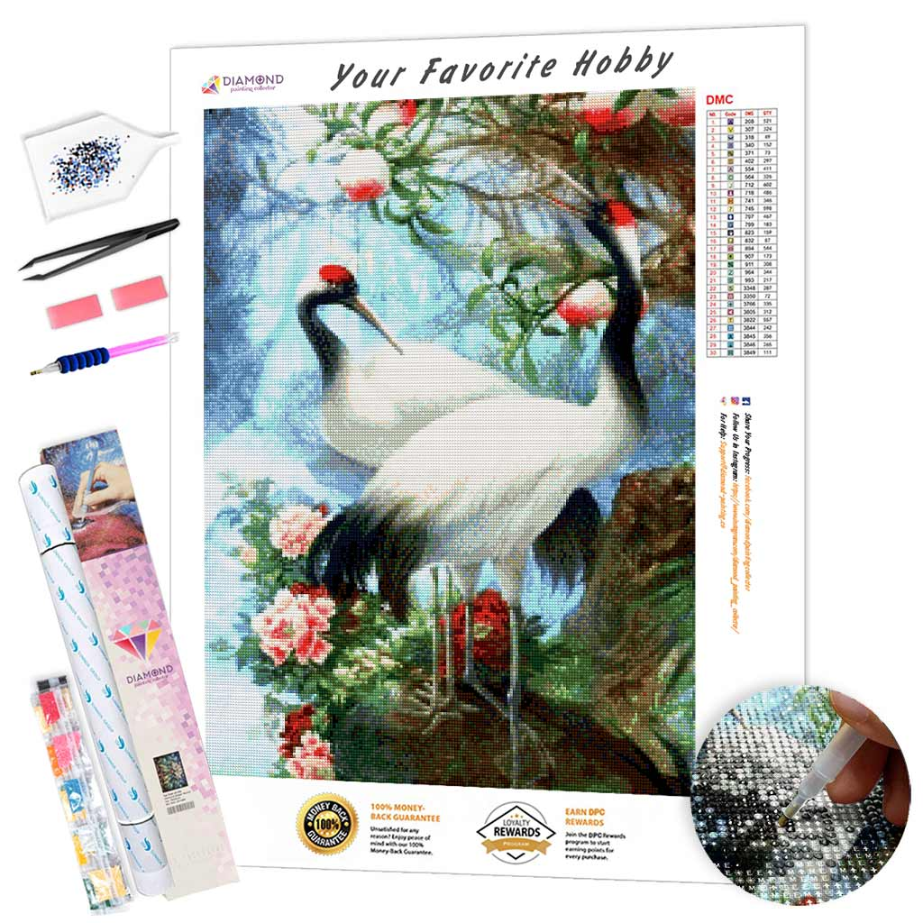 Fantastically Beautiful Birds DIY Diamond Painting Kit