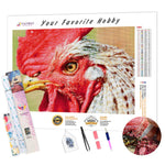 Load image into Gallery viewer, Ferocious Rooster DIY Diamond Painting Kit