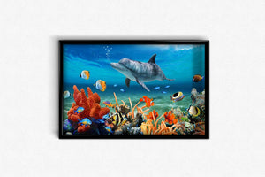 Fish World DIY Diamond Painting Kit