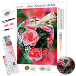 Load image into Gallery viewer, Flower In Apple Crystal DIY Diamond Painting Kit