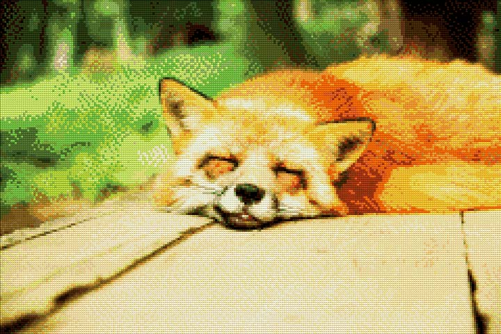 Full Fox DIY Diamond Painting Kit