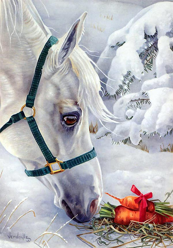 Gift for a Horse DIY Diamond Painting Kit