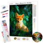 Load image into Gallery viewer, Ginger Little Fox DIY Diamond Painting Kit