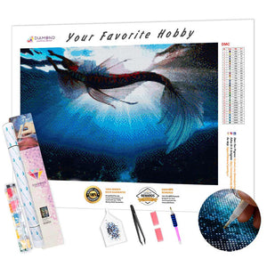 Gorgeous Mermaid DIY Diamond Painting Kit