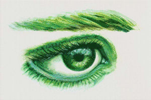 Green Eye DIY Diamond Painting Kit