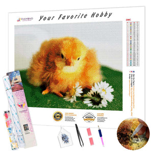 Hatched Chick DIY Diamond Painting Kit