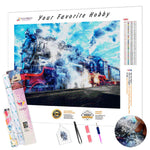 Load image into Gallery viewer, Hot Locomotive DIY Diamond Painting Kit
